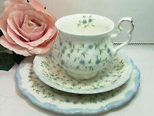 "BEAUTIFUL VINTAGE ROYAL ALBERT BONE CHINA  ""CAROLINE"" TEA CUP SAUCER TEA PLATE"