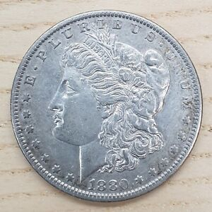 United States of America 1880 New Orleans .900 Silver Morgan One Dollar Coin