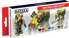 Hataka Combat Mechas & Robots paint set # AS41