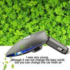 Portable Car Air Purifier, Ionic Air Freshener Removes Cigarette  Odor Bacteria