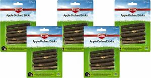 Kaytee Apple Orchard Sticks, 10 Ct Each Natural Wood Chews Small Animal (5 Pack)