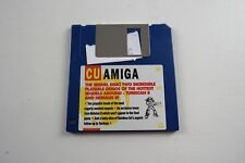 CU Amiga Magazine Cover Disk 10 Turrican II Nebulus II TESTED WORKING