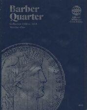 Official Whitman Folder Barber Quarter 1892-1905 Nos