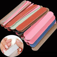 50nail art colorful sanding file buffer for salon manicure gel polisher tool 3C