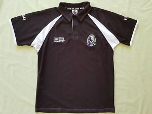 Official Collingwood AFL Side by Side 2012 Members Polo Top, Size S