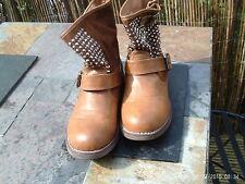 Ladies ankle boots - Jumex label - size 40 (UK 7) - camel
