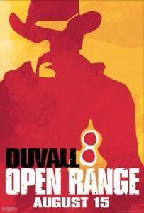 Open Range (Single Sided) Advance Portrait) (2003) Original Movie Poster