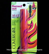 NEW COVER GIRL FLAMED OUT MASCARA MAX VOLUME MAKEUP COSMETICS #300 VERY BLACK
