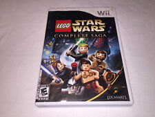 LEGO Star Wars: The Complete Saga (Nintendo Wii, 2007) Complete Excellent!