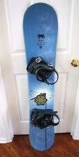 LAMAR FOXIE SNOWBOARD SIZE 144 CM WITH LIQUID BINDINGS