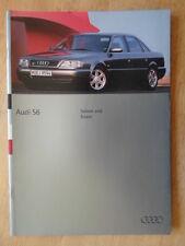 AUDI S6 Saloon & Estate 1994 1995 UK Mkt prestige brochure