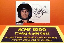 Gerry Anderson UFO Unstoppable Matt Zimmerman Autograph Card MZ1 Co-Pilot Jim