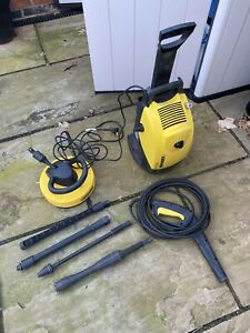 Karcher 520MB Pressure Washer With Attachments with Patio attachment