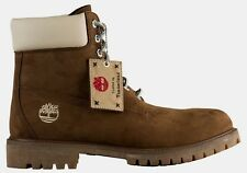 """Timberland 6"""" Mens Premium Waterproof Boots Limited Edition--Dark Earth--Size 11"""