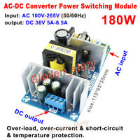 AC-DC Converter 110V 220V 230V to 36V 5A 180W Buck Volt Power Supply PCB Module