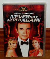 NUNCA DIGAS NUNCA JAMAS NEVER SAIN NEVER AGAIN DVD NUEVO SEAN CONNERY ACCION R2