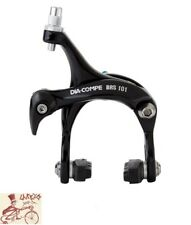DIA-COMPE BRS101 DUAL PIVOT FRONT BLACK ROAD CALIPER BICYCLE BRAKE