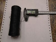 One 5oz Spool Of 0.7mm Thick Black Nylon Bonded Saddle Leather Sewing Thread