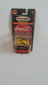 New 2000 Matchbox Collectibles Coca-Cola Brand 1979 Chevy Corvette~ Free Ship!