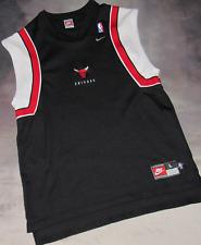 100% Authentic Nike Chicago Bulls Warm Up Shooting Shirt SZ Large Michael Jordan