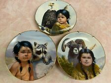 New Listing3 Vintage Pride of American Indians collector plates by Perillo