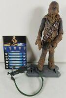 "Star Wars Saga Legends SL18 Chewbacca 3-3/4"" Scale Action Figure 2010 Hasbro"