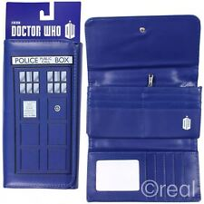 New BBC Doctor Who Embossed TARDIS Purse Folding Clutch Official Licensed