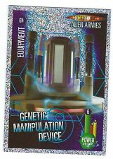 Doctor Who Alien Armies Chase Card Glitter Card G4 Genetic Manipulation Device