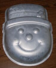 Snowman Face Wilton Cake Pan 2002 2105-2083 Birthday Christmas Party Mold Used