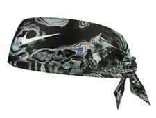 Nike Printed Dri-Fit Head Tie 2.0 Black/Hyper Magenta/White Women's Men's