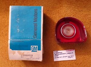 1968 Chevrolet Bel Air Impala Tail Lamps Lens NOS 5959866 Genuine Guide Original