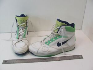 VINTAGE 1990s NIKE AIR FLIGHT TRAINERS BASKETBALL HIGH TOPS RARE HTF SIZE 11
