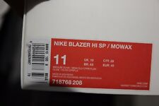 Nike BLAZER HI SP MOWAX 11us/45 EUR ds new in box   718768-208 NO PAYPAL