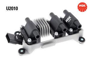 NGK Ignition Coil U2010 fits Volkswagen Golf 2.8 VR6 Mk3 (128kw)