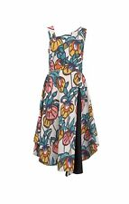 FINERY Berkley White Floral Vines Occasion Party Dress - Size 12 BNWT