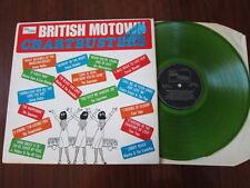 British Motown chartbusters GREEN VINYL Supremes Stevie Wonder Marvelettes