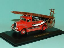 Road Signature 1/43 1938 Dennis Light Four Fire Engine MIB