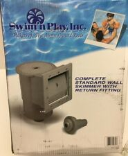 Swim'n Play Inc. Complete Standard Wall Skimmer With Return Fitting NEW