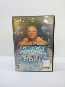 WWE Smackdown Here Comes The Pain PS2 Video Games