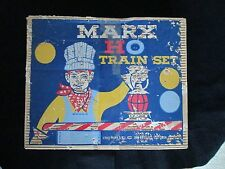 vintage Marx HO ToyTrain Set Box ONly Display Decoration