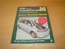 Haynes VW TRANSPORTER T5 MULTIVAN CAMPER VAN CARAVELLE Manual Owners Handbook