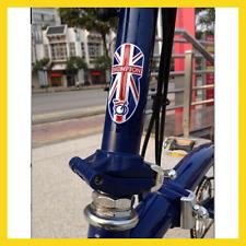 Bicycle Metal Head Badge Decal Head Post Stem Sticker For Brompton Folding Bike
