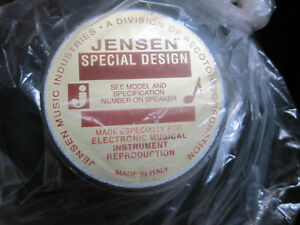 Jensen C10 R Speaker 8 ohm new in box