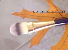 Tarte Foundation Brush (purple Handle) Brand New - Full Size!