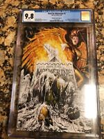 Hunt For Wolverine#1 CGC 9.8 T Kirkman Variant Cover B - Homage Web SM #32