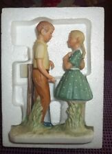 Norman Rockwell Day In The Life Of A Girl Ii Gorham Figurine Mint Rw-35