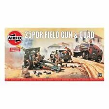 Airfix Airf01305v 25pdr Field Gun & Quad 1/76