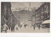 Innsbruck Maria Theresienstrasse Vintage Postcard Austria 391a