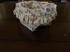 Longaberger Liner for Mom's Memories Basket - Orig. Pkg - New. Vintage Blossoms