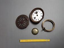 antiche Pezzi d'orologio pendolo antica campana